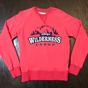 Disney CrewNeck Sweatshirt Wilderness Lodge Parks